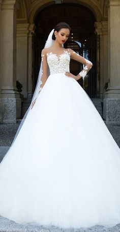 Milla Nova Bridal 2017 Wedding Dresses jersaey / http://www.deerpearlflowers.com/milla-nova-2017-wedding-dresses/14/