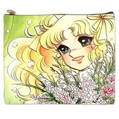 Candy Candy Anime Cosmetic Bag 2 sides (XL)