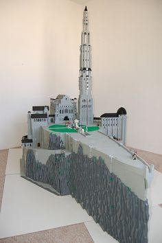 LEGO Minas Tirith_3008 | Flickr - Photo Sharing!