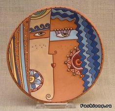 Керамическая арт-посуда от Натальи Сотс