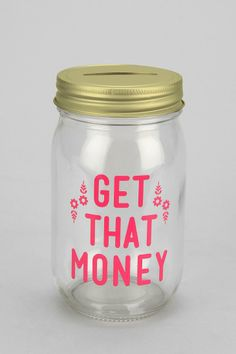 Mason Jar Bank, something cutesy and functional