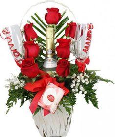 ramos de rosas de amor para novias