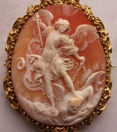 St. Michael  the Archangel Slaying the Devil