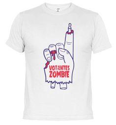 Camiseta Votantes Zombie camisetas zombies, camisetas elecciones, camisetas psoe, camisetas zombi, camisetas walking dead, camisetas sangre, camisetas zombie, camisetas ppsoe, camisetas politica, camisetas muertos vivientes, camisetas partido popular, camisetas obama, camisetas voto, camisetas votantes, camisetas democracia, camisetas mano zombie, camisetas zombie city, camisetas electoral, podemos, ganemos, rajoy, cospedal, pequeño nicolas