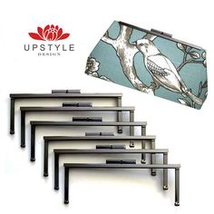 Metal Purse Frames Pick any 10 frames DIY Clutch by Upstyle