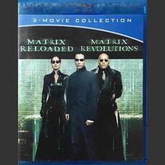 Matrix Reloaded/Matrix Revolutions (Blu-ray Disc, Set) for sale online Blu Ray Movies, 80s Movies, 2 Movie, Revolution Poster, Revolution 2, Movies For Sale, Great Movies, Matrix Reloaded, Computer Hacker