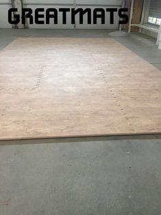 "Wood Grain Foam Tiles Premium ""I love it, it's exactly that i wanted for my quarantine workouts and dance in the garage so I'm not on hard concrete."" - Vehanoush Foam Floor Tiles, Foam Flooring, Basement Flooring, Hardwood Floors, How To Waterproof Wood, House Tiles, Wood Grain, Interior Styling, Concrete"