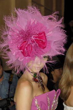 pink Christian Dior...