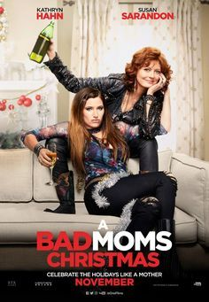 A BAD MOMS CHRISTMAS CHARACTER POSTER