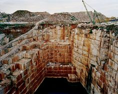 """Edward Burtynsky's """"Iberian Quarry"""""""