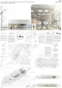 AN OPEN FRAME FOR ARCHITECTURE por Atelier Lorentzen Langkilde. Imágenes cortesía de Aarhus School of Architecture.
