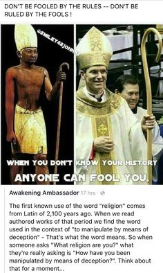 This is why I am so against OrganizedReligion. I am a person of faith....non denominational. It's all about and only about Jesus Christ.