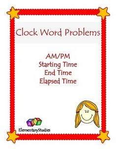 how to solve elapsed time word problems