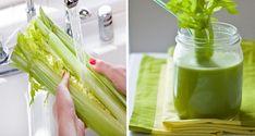 Celerový džus pro rychlý detox ledvin, ochranu srdce a uzdravení kloubů