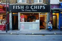 Fish & Chips    Berwick Street, Soho