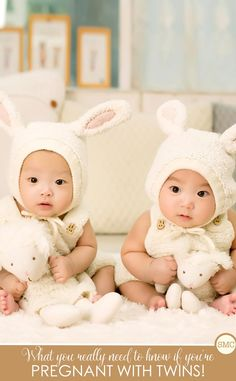 So much great information here for what it's really like to have twins!