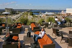 Roof Top View From The Wyvern Hotel Located In Punta Gorda Florida Executive Cooling