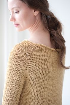 Quince & Co Kestrel - An aran weight linen yarn.