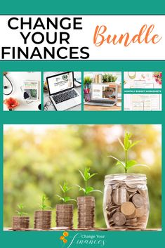 Complete Change Your Finances Bundle Monthly Budget Worksheet, Budgeting Worksheets, Budgeting Finances, Budgeting Tips, Paying Off Student Loans, Paying Off Credit Cards, Budget Planer, Family Budget, Managing Your Money