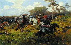 Казаки Татары и Гусары на картинах Йозефа Брандта » SwordMaster