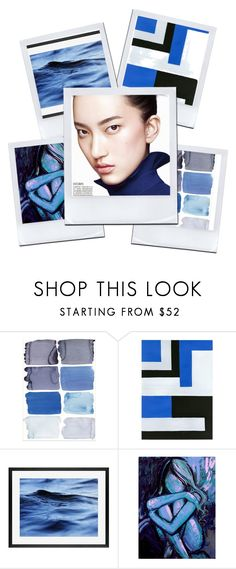 """""""blue things 2"""" by tobash21 on Polyvore featuring beauty and Pottery Barn"""