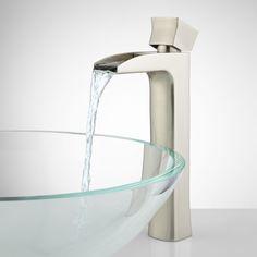 Corbin Waterfall Vessel Faucet - Bathroom Sink Faucets - Bathroom