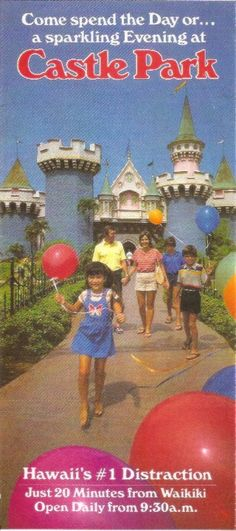 Castle Park Hawaii. Those were the days!