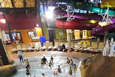 Kahuna Laguna Indoor Water Park and Hotel-Resort. Located in North Conway New Hampshire. Open Year Round!