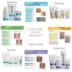 Rodan + Fields has 4 regimens that are backed by our 60 day guarantee! Use the Solution Tool to find out which products are perfect for you!