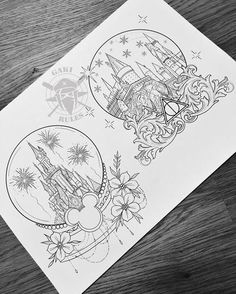 50 Arm Floral Tattoo Designs for Women 2019 – Page 19 of 50 Arte Do Harry Potter, Harry Potter Drawings, Harry Potter Tattoos Sleeve, Disney Sleeve Tattoos, Art Disney, Disney Kunst, Disney Crafts, Diy Tattoo, Tattoo Ideas