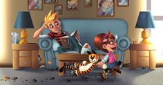 Finally, a Calvin  and Hobbes pic that doesn't inspire tears