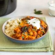 Sweet potato and chickpea slow cooker tagine - Amuse Your Bouche