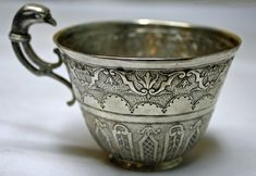 French Louis XIV period 950 silver punch cup ... | Antique Silver S...