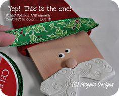 Megpie Designs: Balsa Board Santa