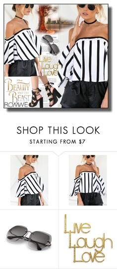 """""""//Romwe(summer style) set 1.//"""" by fahirade ❤ liked on Polyvore featuring Disney and PTM Images"""