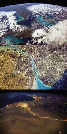 In his new book, You Are Here, astronaut Chris Hadfield shares what it's like to orbit the earth. Great photos - buy it! Earth And Space Science, Earth From Space, Science And Nature, Chris Hadfield, Earth Photos, Space Photos, Space And Astronomy, Astrophysics, Space Station