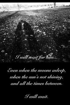 I Will Wait   #military #milso #love