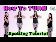 JAZZ DANCE TUTORIAL: Spotting A Turn | Beginner Pirouette Technique w/ D...