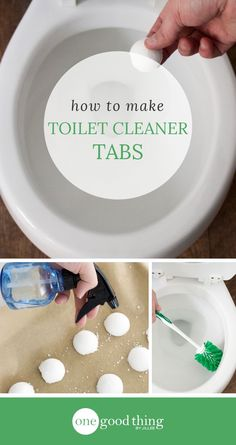 Learn how to make your own homemade toilet cleaner tabs. Drop one into the toilet, let it fizz, then scrub for an all-natural clean! (Hobbies To Try Essential Oils) Homemade Cleaning Products, Cleaning Recipes, Natural Cleaning Products, Cleaning Hacks, Cleaning Items, Household Products, Cleaning Materials, Bath Products, Soap Recipes