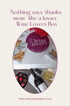 """Nothing says """"Thanks for putting up with me"""" like a luxury pampering Wine Lovers Box filled with premium wines and pampering treats for some self-care. White Chocolate Truffles, Putting Up With Me, Wine Subscription, Thanks Mom, Luxury Candles, Scented Candles, Thoughtful Gifts, Wines"""