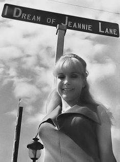 Barbara Eden at the naming of I Dream of Jeannie Lane in Cocoa Beach FL. 1960's