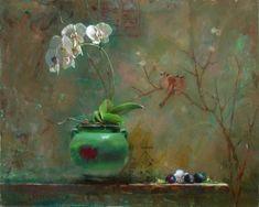 Bart Lindstrom Artworks Gallery Beyond Paint, Small Paintings, Flower Paintings, Oil Paintings, Still Life Flowers, Still Life Art, Art For Art Sake, Pictures To Paint, Diy Art
