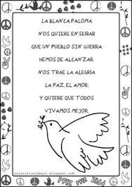 Resultado de imagen de poesia paz