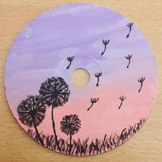 cd art for kids & cd art + cd art projects + cd art diy + cd art for kids + cd art aesthetic + cd art painting + cd artwork cd art + cd art projects for kids Small Canvas Art, Easy Canvas Painting, Mirror Painting, Diy Painting, Easy Canvas Art, Easy Art, Painting Flowers, Aesthetic Painting, Aesthetic Art