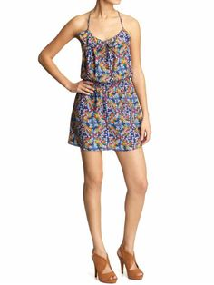 Parker, floral print cami dress