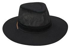 Safari Cotton Twill & Mesh Hat H4276