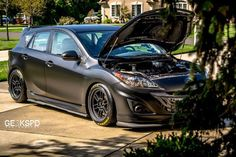 GE3KSPD MOTORSPORTS | Rob Finkle's Gtx3076r Powered Mazdaspeed3