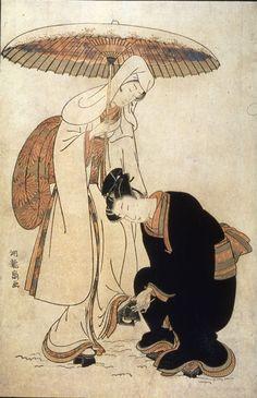 The Heron Maiden  1779 Koryusai, Isoda  Japanese (1735-1790)