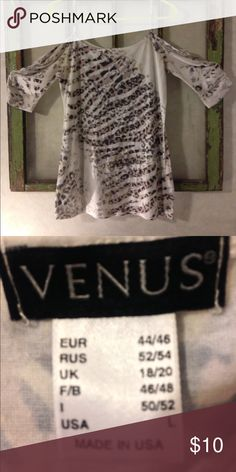 Venus Shirt. Size Large Venus Shirt. Size Large. This is a really pretty shirt on. Venus Tops Tees - Short Sleeve