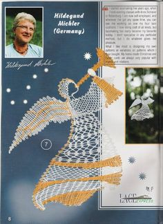"""Журнал """"Lace Express"""" 2000 №3 Bobbin Lacemaking, Types Of Lace, Bobbin Lace Patterns, Wire Crochet, Lace Heart, Lace Jewelry, Needle Lace, Lace Making, Crafts To Do"""
